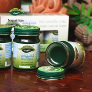 50g大容量、驱蚊止痒防中暑、3瓶:泰国 Napattiga 青草药膏 50gx3瓶