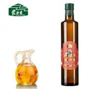 蒙谷香 亚麻籽油 冷榨一级 500ml