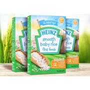 Heinz 亨氏 婴儿营养无糖米粉 100g 3盒 18.5元包邮包税(需用券,合6.17元/盒)