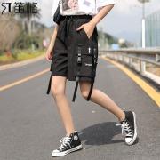 HDG 红笛格 HK3201A 女士工装短裤  券后66元¥66