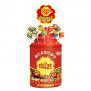 阿尔卑斯珍宝珠棒棒糖108支桶装儿童创意混合味混装糖果礼物批发 26.8元