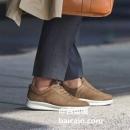 限UK7.5码,Ecco 爱步 Aquet 男士轻质透气真皮休闲鞋 Prime会员免费直邮含税到手438元