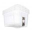 16日0点:美丽雅 有盖透明塑料收纳箱 38L *2件 41.68元包邮(前1小时,合20.84元/件)¥42