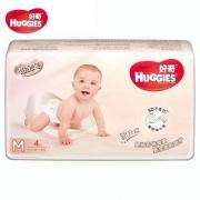 HUGGIES 好奇 铂金装 婴儿纸尿裤 中号 M4片