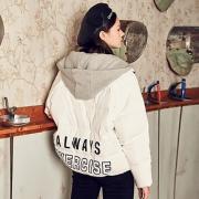 韩版轻薄小个子羽绒服女2018秋冬新款韩版宽松学生加厚面包服网红299.5元