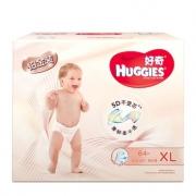 HUGGIES 好奇 铂金装 婴儿纸尿裤 XL64片 *4件 430元包邮(合107.5元/件)¥430