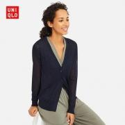 历史低价:UNIQLO 优衣库 413634 薄型V领针织开衫(长袖)