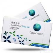 CooperVision 库博 倍明视 倍新隐形眼镜月抛6片 送伴侣盒38元包邮(需领券)