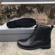 UK4.5码,ECCO 爱步 Touch 25触感系列 女士系带平底靴