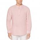 PrimeDay特价,Perry Ellis 派瑞·艾力斯 男式亚麻棉衬衫 M码138.74元(单件包邮)