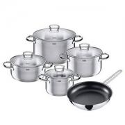 WMF旗下高端,Silit 喜力特 不锈钢厨具5件套