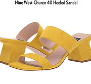 Nine West Churen 40 Heeled Sandal 凉鞋 明黄色