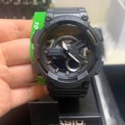 CASIO 卡西欧 AEQ110W-2AV 男士 石英数模双显手表