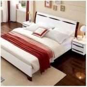 QuanU 全友 121807 现代人造板板式床 1.8m床+床头柜+床垫 1998元包邮(双重优惠)1998元包邮(双重优惠)