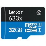 Lexar 雷克沙 633x 32GB Class 10 TF存储卡 28.9元