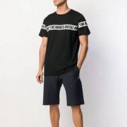 限M码,Diesel 迪赛 Bmowt-just-b 男士圆领短袖T恤