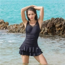 LI-NING李宁LSLL304-2女士连体裙式泳衣+凑单品74元包邮(需用券)