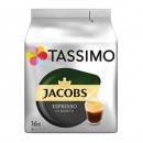 PRIMEDAY特价,Tassimo Jacobs 经典意式咖啡 16个*5袋190.9元