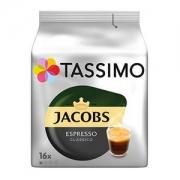 PRIMEDAY特价,Tassimo Jacobs 经典意式咖啡 16个*5袋