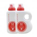 25日0点、88VIP:B&B 保宁 婴儿洗衣液 1500ml 2瓶装 *2件 123.25元包邮(需用券,合30.81元/瓶)¥123