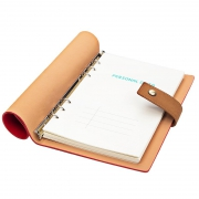 FARAMON 法拉蒙 A5软皮笔记本 活页搭扣 5色可选 8.8元(需用券)¥9