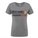 Moschino 莫斯奇诺 女士灰色小熊棉质短袖T恤 A1906 3色447.2元包邮(下单满减)