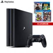 SONY 索尼 PS4 Pro(PS4)游戏机 国行 赠2K19、雷曼、小小大星球、三国无双2799元包邮