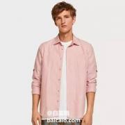 S/XL码,Scotch & Soda 男士纯棉细条纹休闲衬衫148843130元