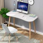 TIMI 天米 北欧简约学习桌椅 电脑桌 (书桌+椅子)  6色