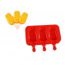 AMW 爱满屋 硅胶雪糕模具 红色兔兔3槽装 送50支木棒+10支雪糕袋/扎带+硅胶盖 6.9元包邮(需用券)¥7