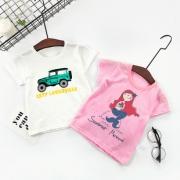 【拍2件】男女儿童纯棉短袖T恤