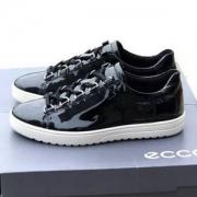 39码,Ecco 爱步 Fara法拉系列 女士真皮漆面系带休闲鞋新低335.52元(国内1259元)