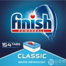 PRIMEDAY特价,Finish 亮碟 classic 洗碗机专用洗涤块 154块122.58元