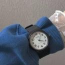 CASIO 卡西欧 EAW-MQ-24-7B2 中性黑色树脂表带手表86.02元