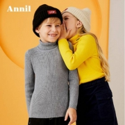 2019春秋装新款,安奈儿 儿童针织衫长袖打底衫(90~170码) 多色