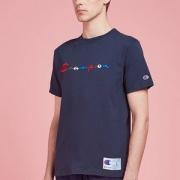 M码,Champion 冠军牌 C3-H371 男士印花短袖T恤
