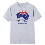 LuxuryLane2f0007-army-09男士印花短袖T恤*2件