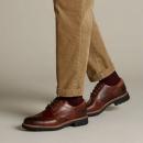 PrimeDay特价,Clarks 其乐 Batcombe Wing 男士真皮正装鞋新低208.72元