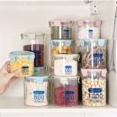 莱朗 透明塑料密封罐 3件套(600+800+1000ml) *2件 19.8元包邮(合9.9元/件)¥20