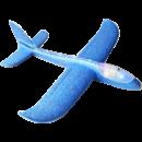阳光宝宝 手抛泡沫滑翔飞机 小号蓝 37cm 5.8元包邮(需用券)5.8元包邮(需用券)