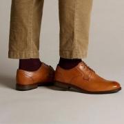 限UK6码, Clarks 其乐 19年新款 男士 Edward Plain 男士牛津鞋