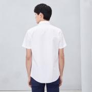 HLA 海澜之家 男士短袖衬衫 98元