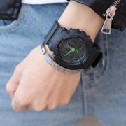 Casio 卡西欧 G-Shock系列 GA-100C-1A3 多功能双显运动手表