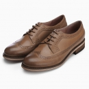 InteRight 女士布洛克鞋 *2件 189元包邮(立减,合94.5元/件)¥189