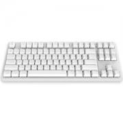 iKBCW200机械键盘红轴白色无光无线87键