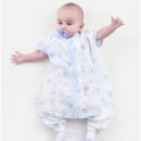 OUYUN欧孕婴儿爆款纱布睡袋*2件84元包邮(合42元/件)