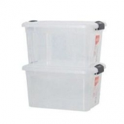 Citylong 禧天龙 6485 塑料收纳箱 24L 2个装 *3件 107元包邮(满减,合35.67元/件)