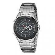 plus会员:CASIO 卡西欧 Edifice 系列 EFA119BK-1AV 男士双显时装腕表