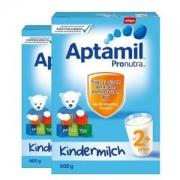 Aptamil爱他美Pronutra婴幼儿奶粉2+段600g*4件