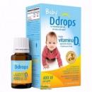 Baby Ddrops 婴儿维生素d3滴剂 90滴*3237元包邮